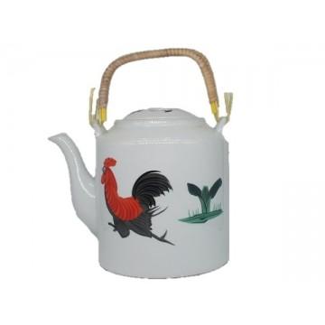 Tea Pot [Rooster #White]